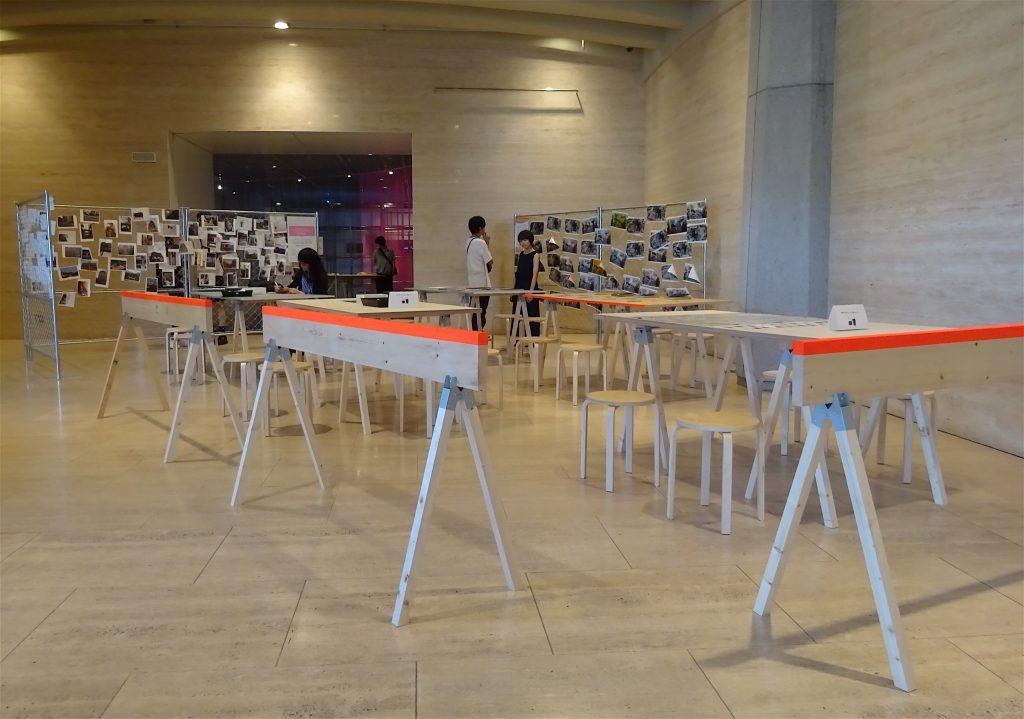 ゴードン・マッタ・クラーク Gordon Matta-Clark, interactive installation