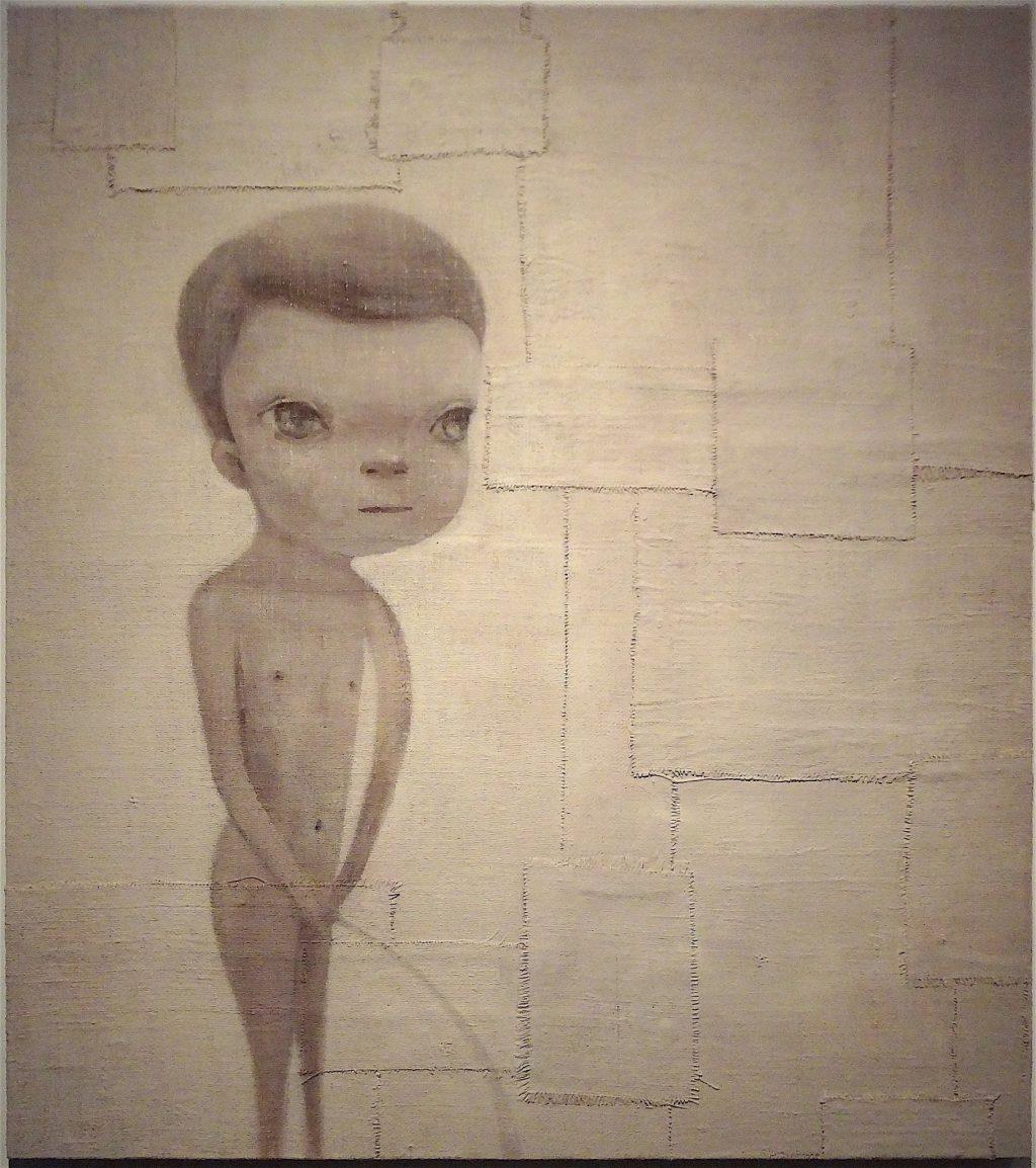 """奈良美智 「ジュリアン」 NARA Yoshitomo """"Julien"""" 2012年 (奈良美智展 @ 横浜美術館 2012年)"""