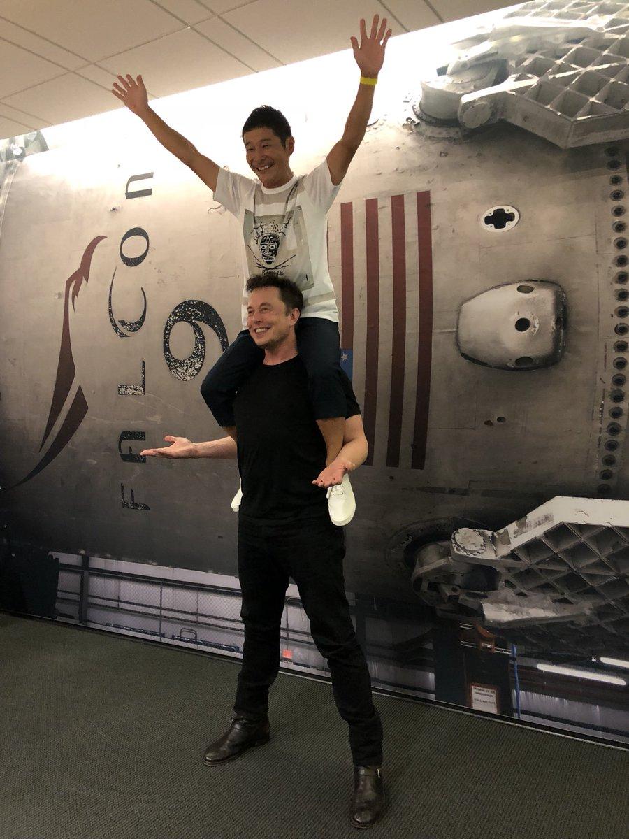前澤友作 MAEZAWA Yusaku イーロン・マスク Elon Musk