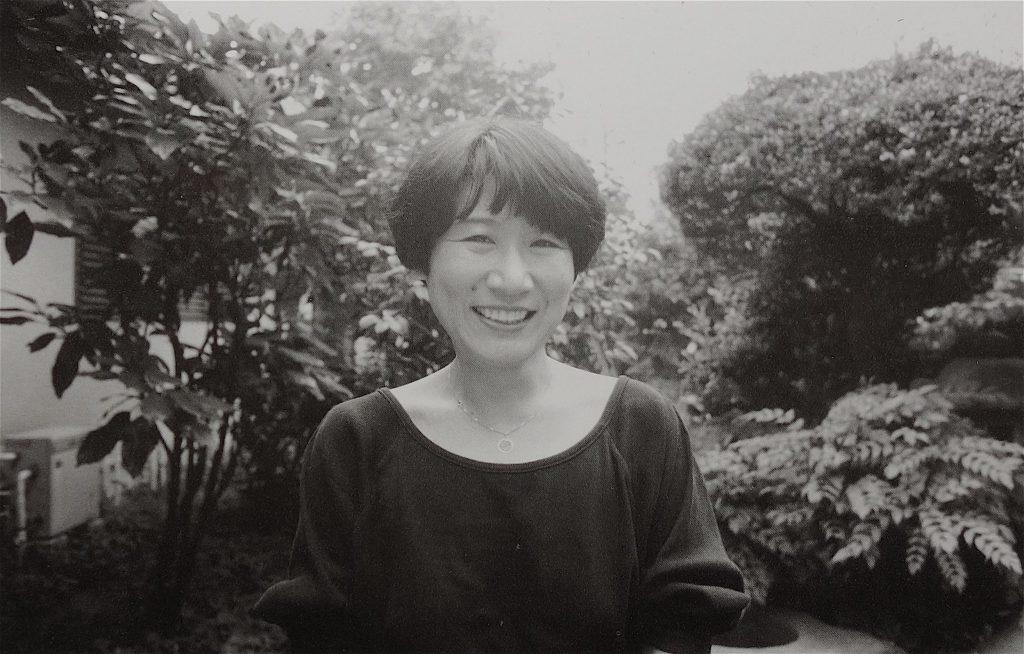 津島佑子 TSUSHIMA Yuko、自宅 1990年
