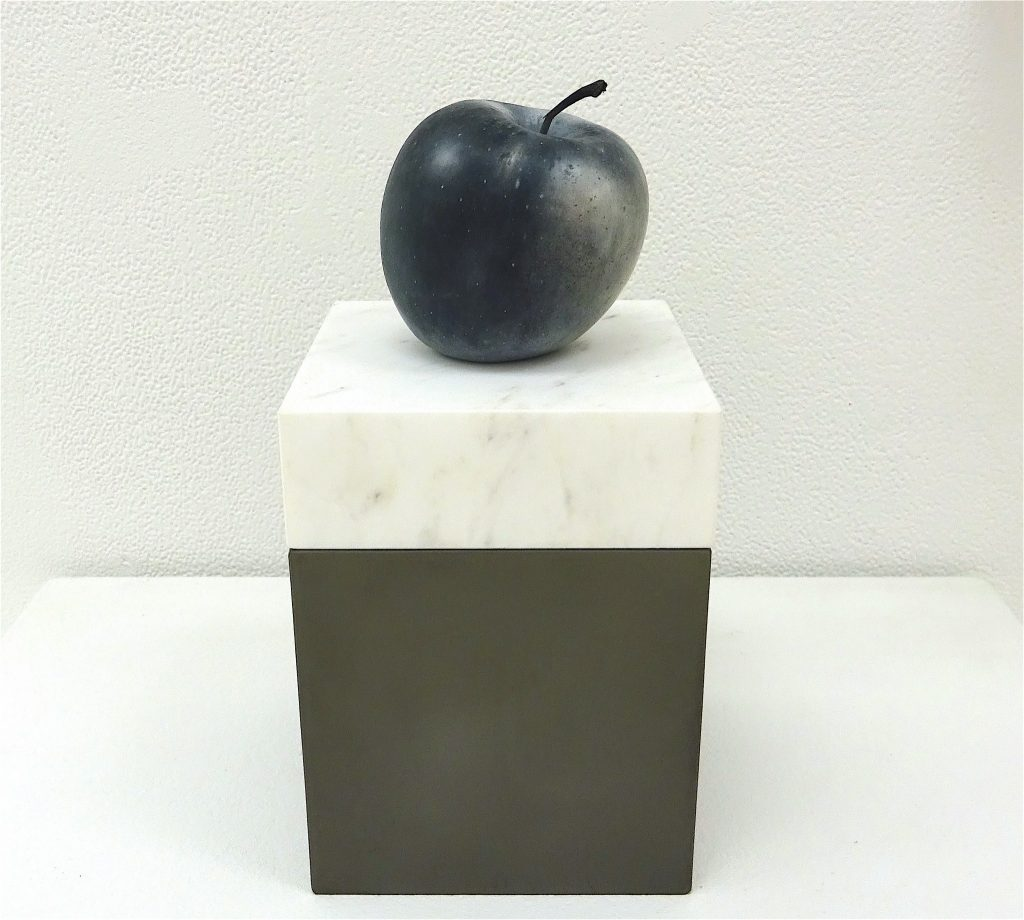 AMEMIYA Yusuke 雨宮庸介 「Apple (black & white)」