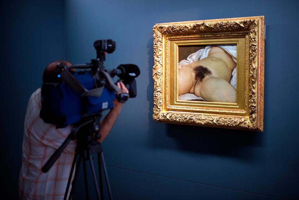 Gustave Courbet ギュスターヴ・クールベ 「世界の起源」L'Origine du monde ・The Origin of the World, 1866年