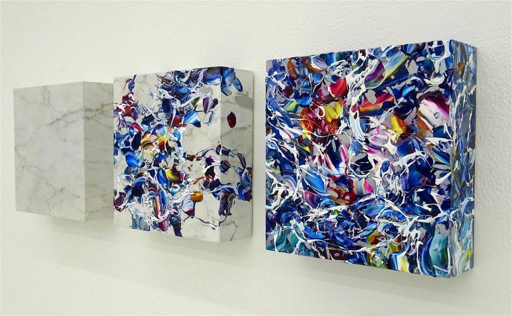 ISHIGURO Akira 石黒昭 「Painting of marble 9 March 2018」