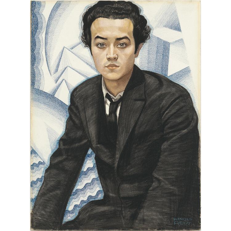 Isamu Noguchi by Winold Reiss