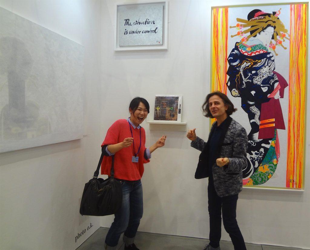 MAKIDA Emi 牧田恵実 と私、アートフェア東京2016年