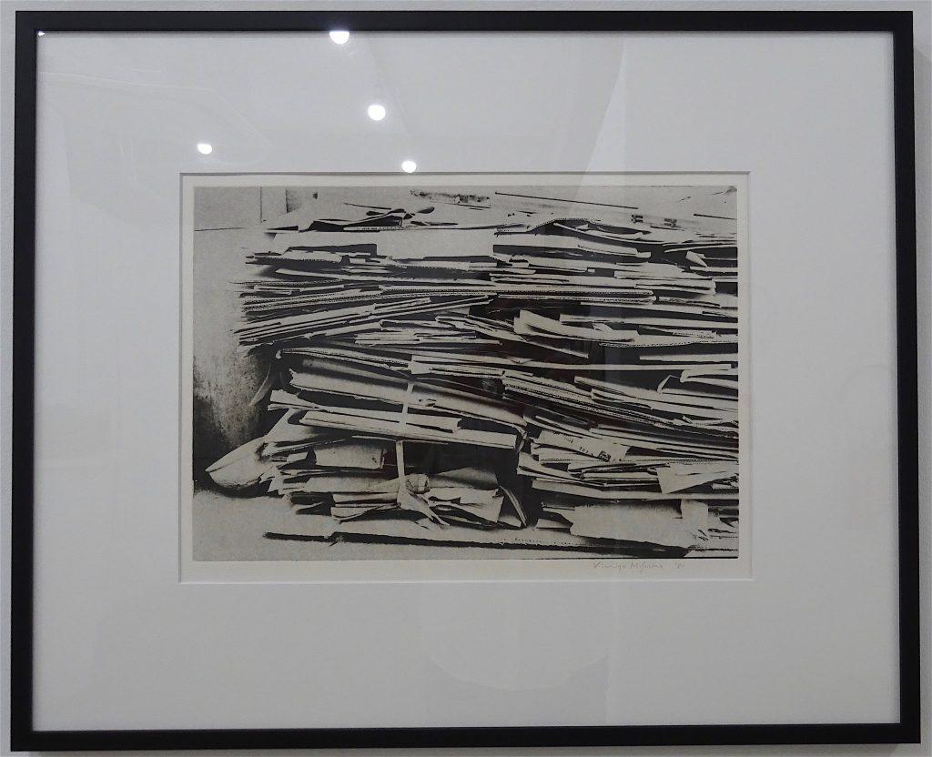 "MISHIMA Kimiyo 三島喜美代 ""Untitled"" 1981, 50 x 79.5 cm, etching on paper"