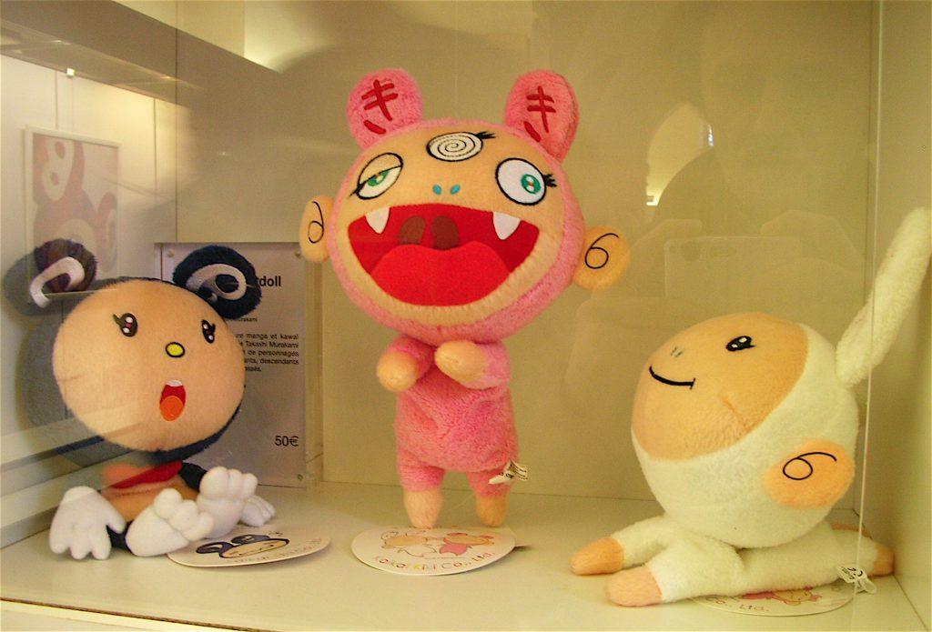 「Murakami Versailles」個展のMuseum shop 村上隆グッズ