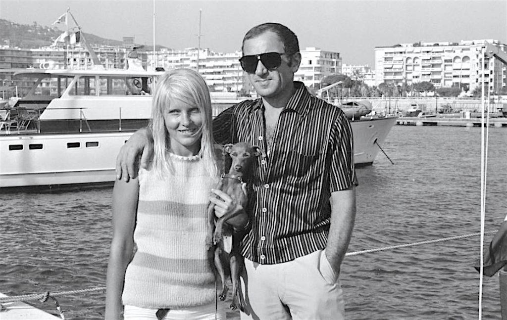 Ulla Thorsell ウラ トールセル & シャルル・アズナヴール・Charles Aznavour around 1968