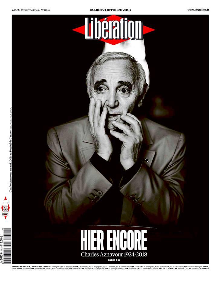 シャルル・アズナヴール・Charles Aznavour Liberation