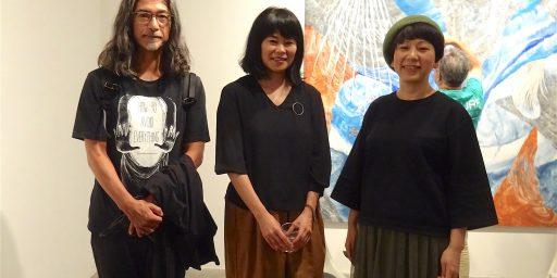 フェミニン・浮遊する宇宙空間 by 村瀬恭子 と 塩田千春