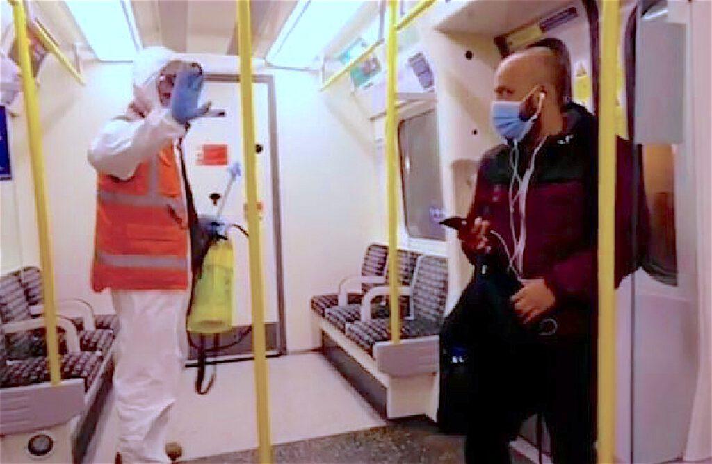 バンクシー ロンドン 地下鉄 2020年