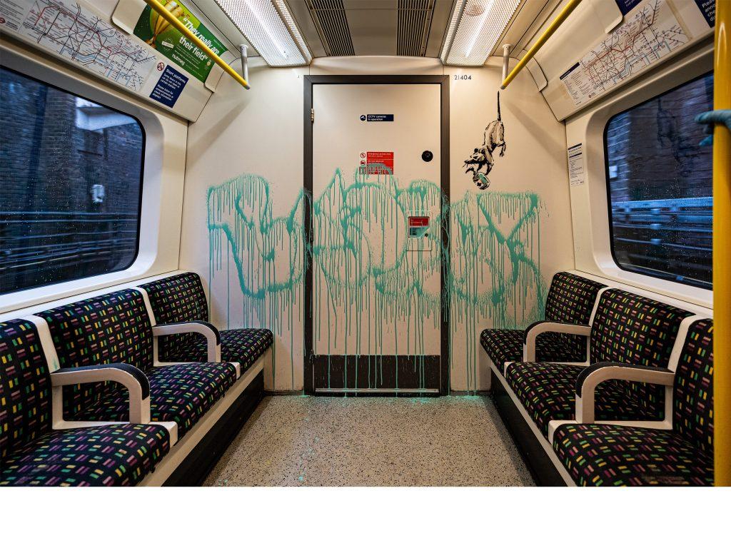 バンクシー London Underground