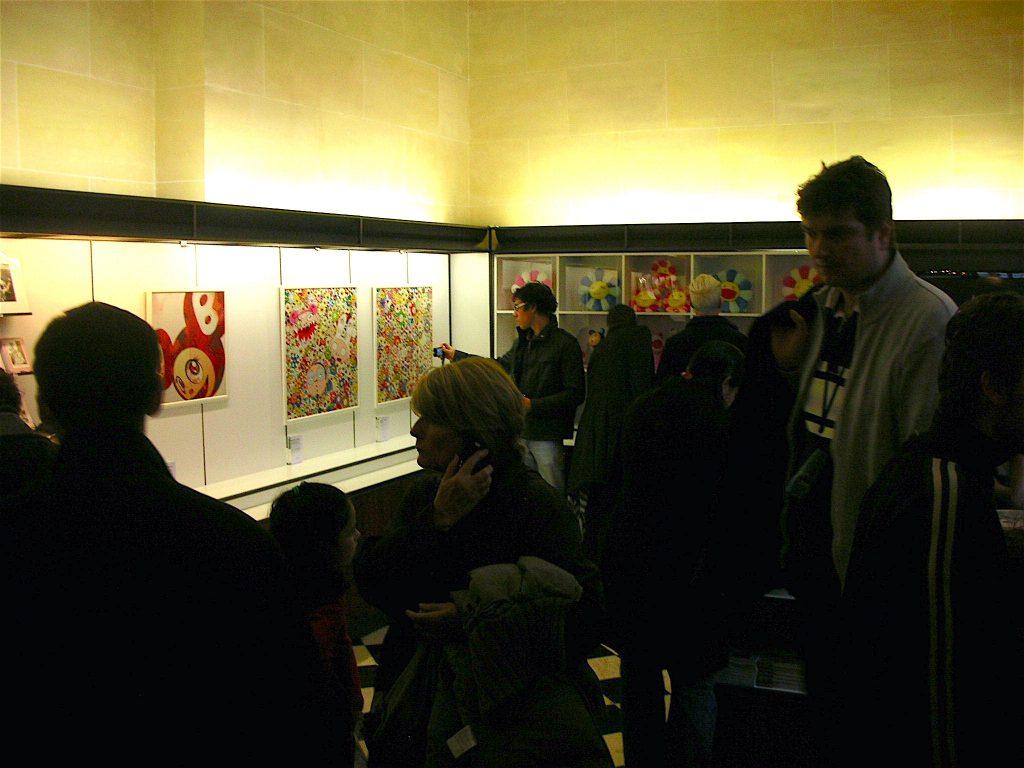 ベルサイユ宮殿 「Murakami Versailles」個展のMuseum shop 村上隆グッズと版画 Offset lithograph