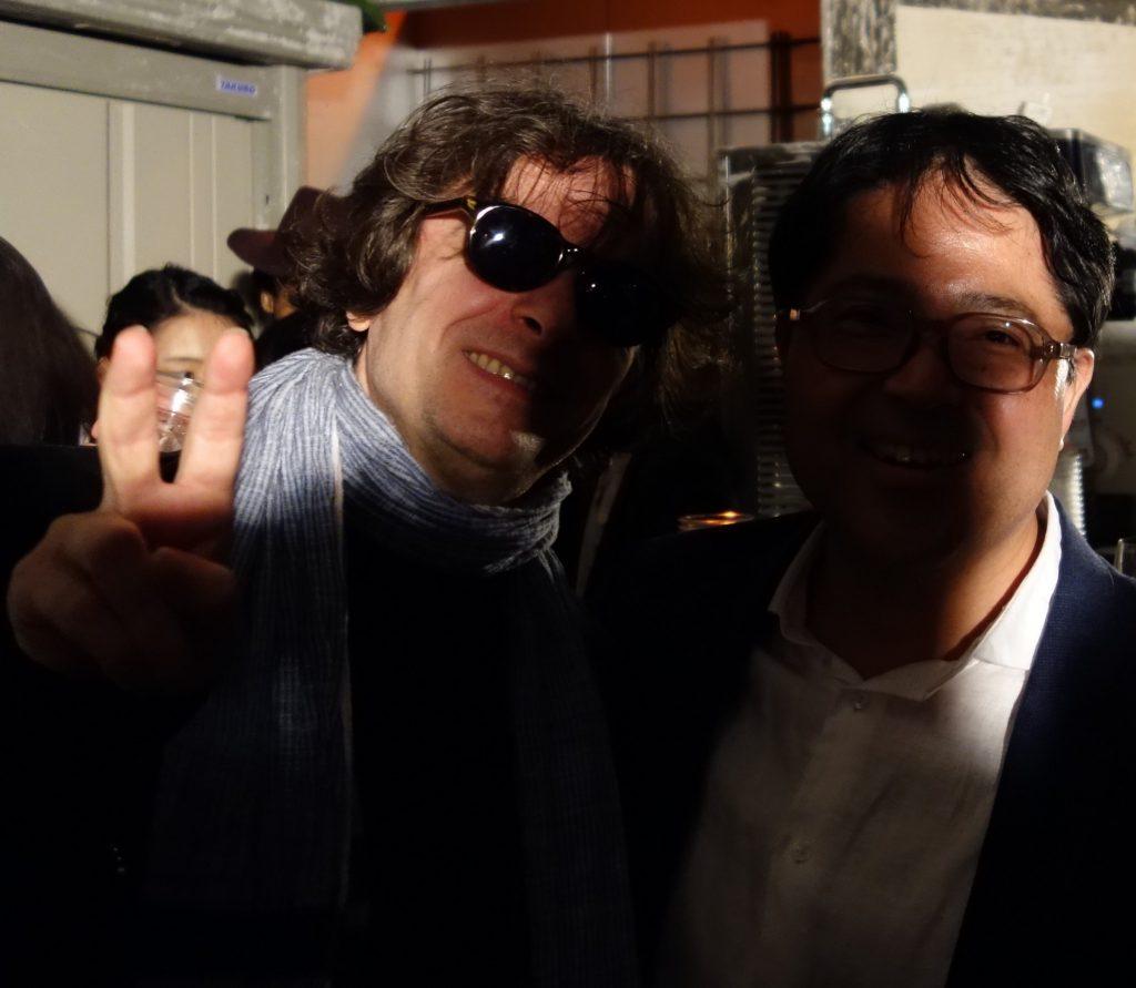 小山登美夫+酔っ払い