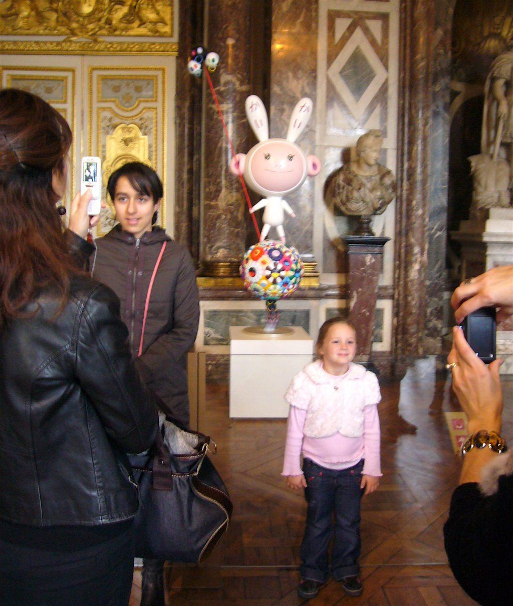 村上隆 MURAKAMI Takashi「Kaikai & Kiki」 の「KaiKai」@ ベルサイユ宮殿の個展 「Murakami Versailles」2010年