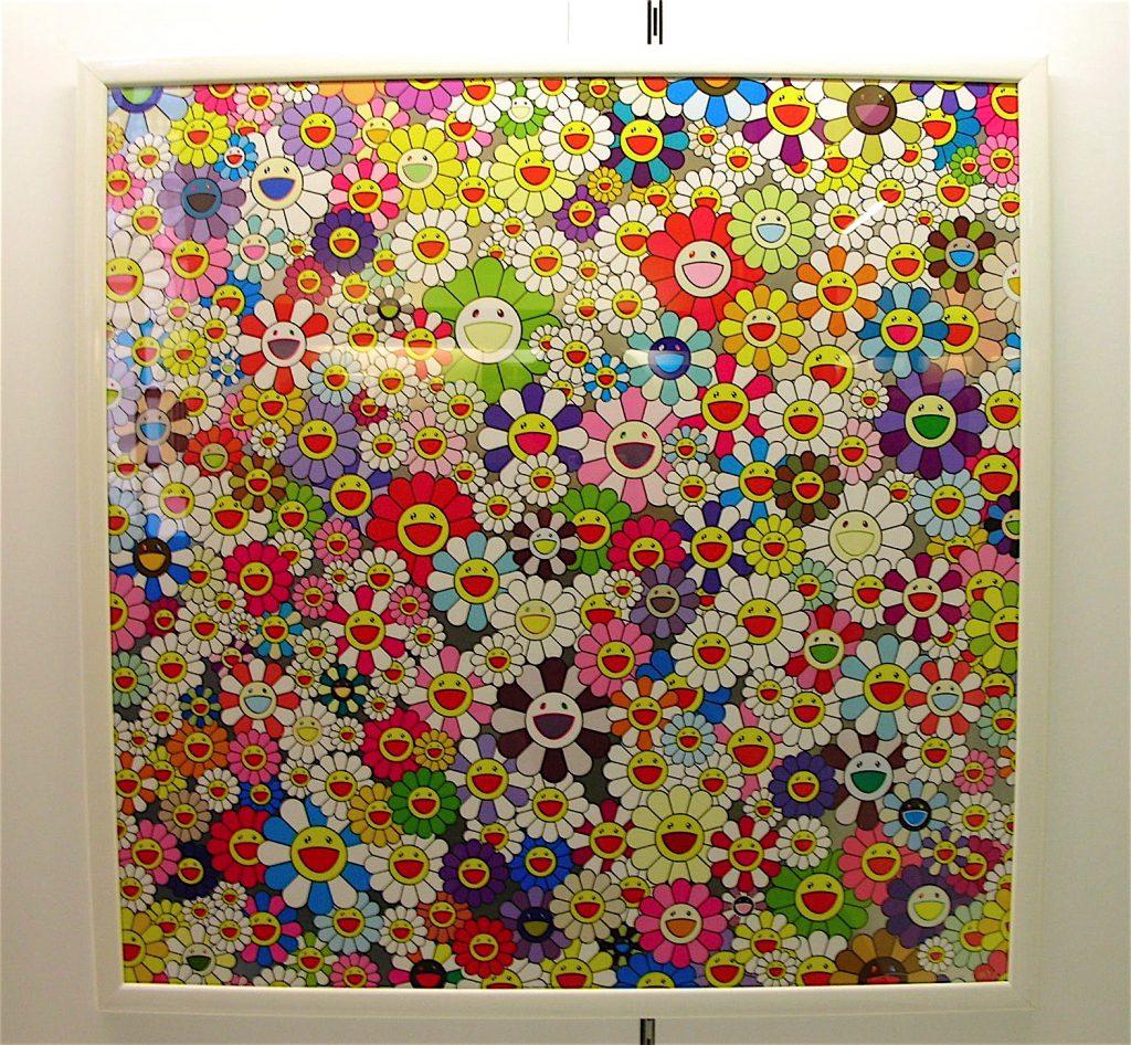 村上隆 MURAKAMI Takashi Flowers, flowers, flowers 2010, ed.300, Offset lithograph, 3.300 Euro
