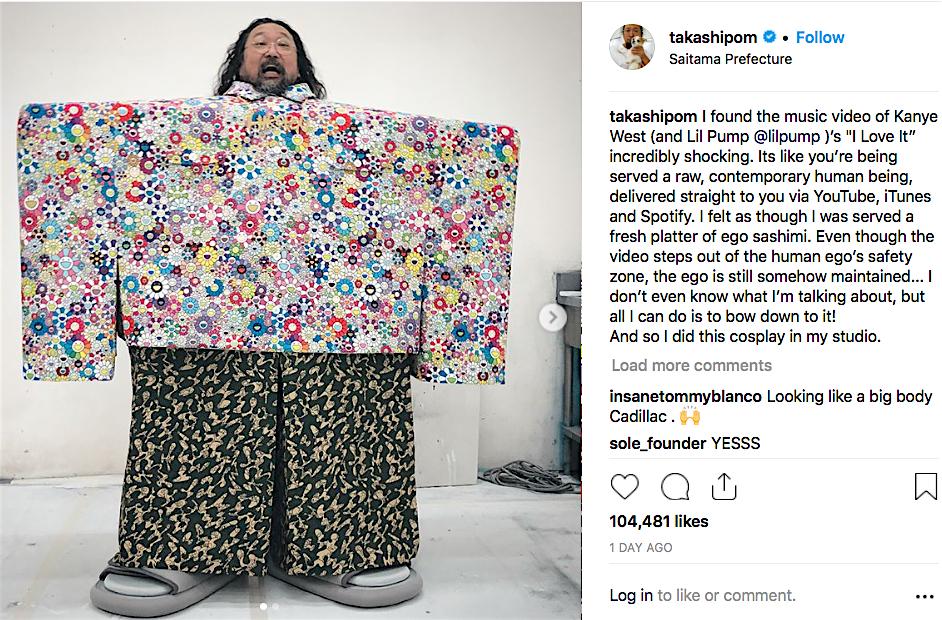 村上隆 MURAKAMI Takashi Kanye West