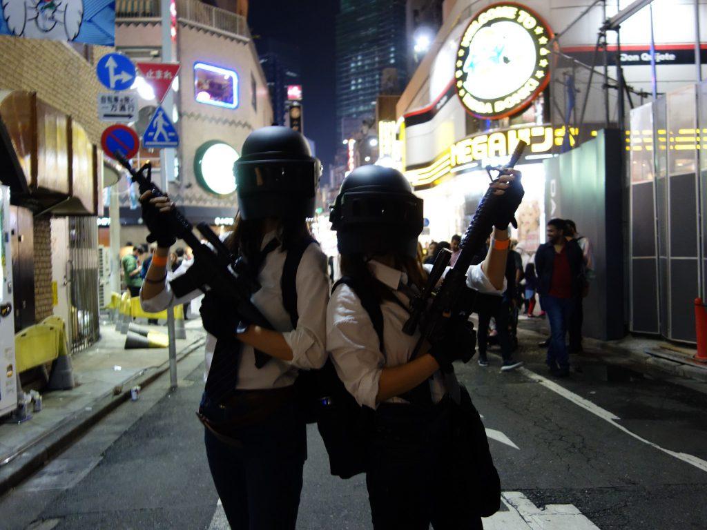 東京渋谷ハロウィン