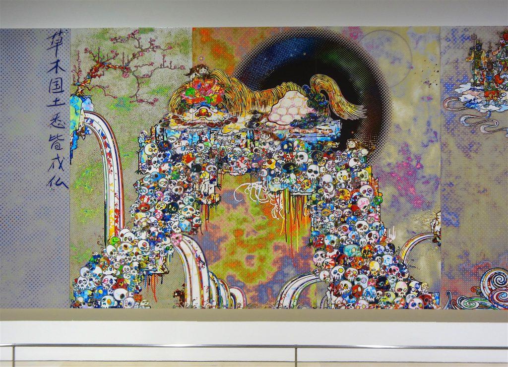 MURAKAMI Takashi The 500 Arhats「村上隆の五百羅漢図展」@ 森美術館 Mori Museum Tokyo 2015, detail