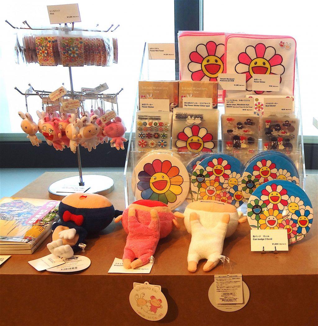 MURAKAMI Takashi The 500 Arhats「村上隆の五百羅漢図展」@ Mori Museum Tokyo 2015, souvenir shop