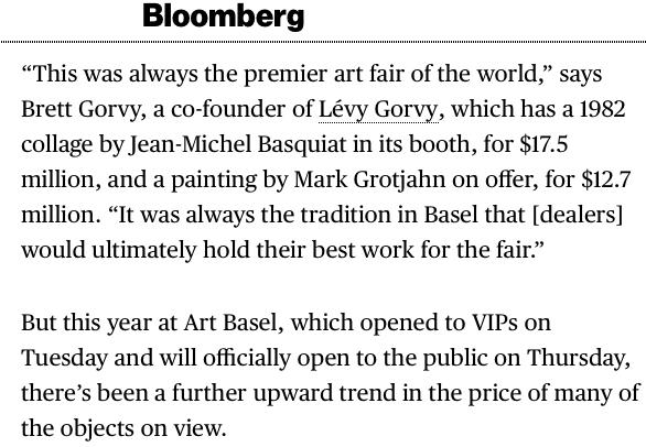 Mark Grotjahn @ Bloomberg