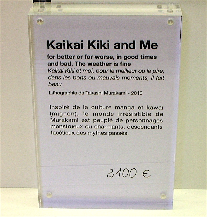 information in the museum shop
