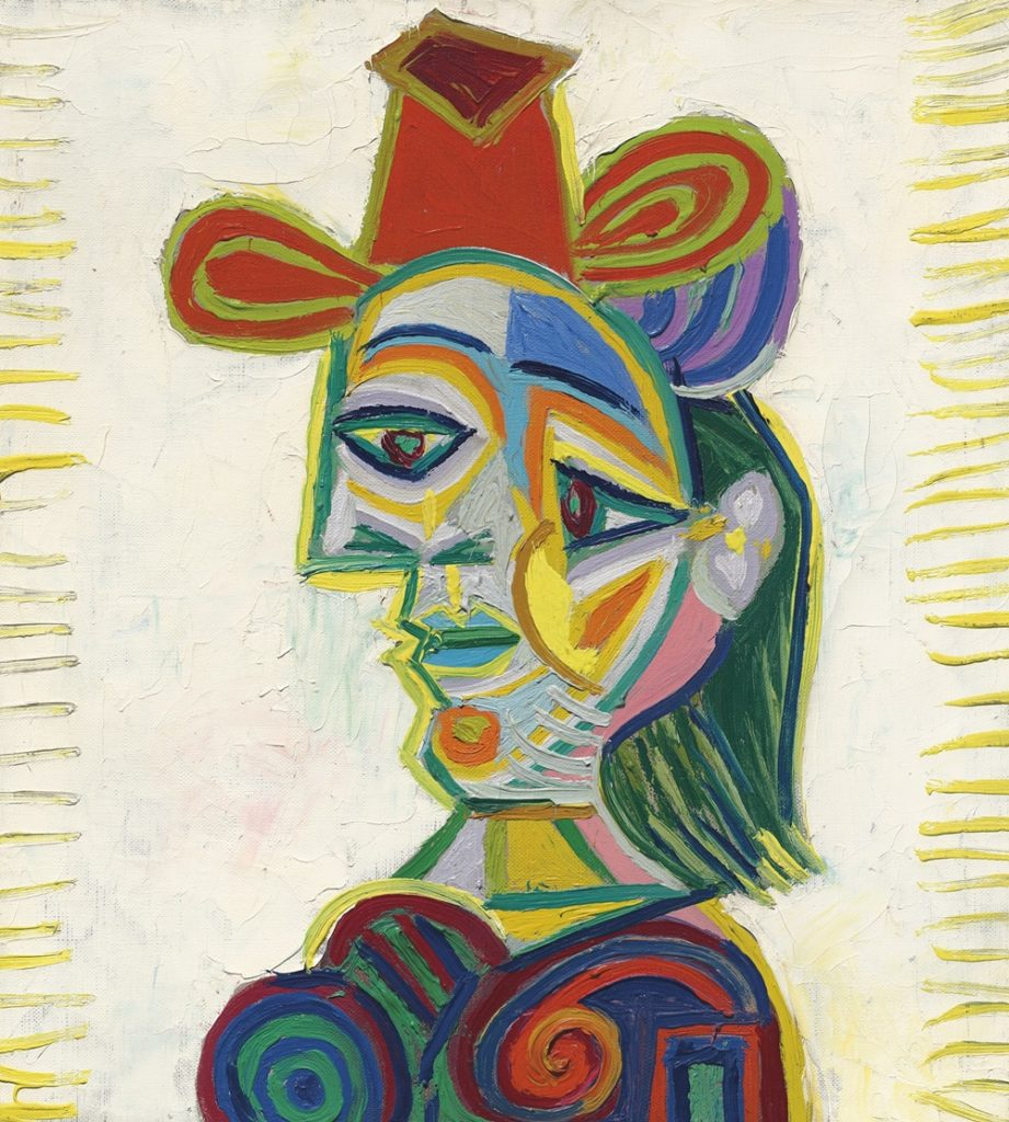 "Pablo Picasso ""Buste de Femme(Dora Maar)"" (1938) MAEZAWA Yusaku collection 前澤友作コレクション"