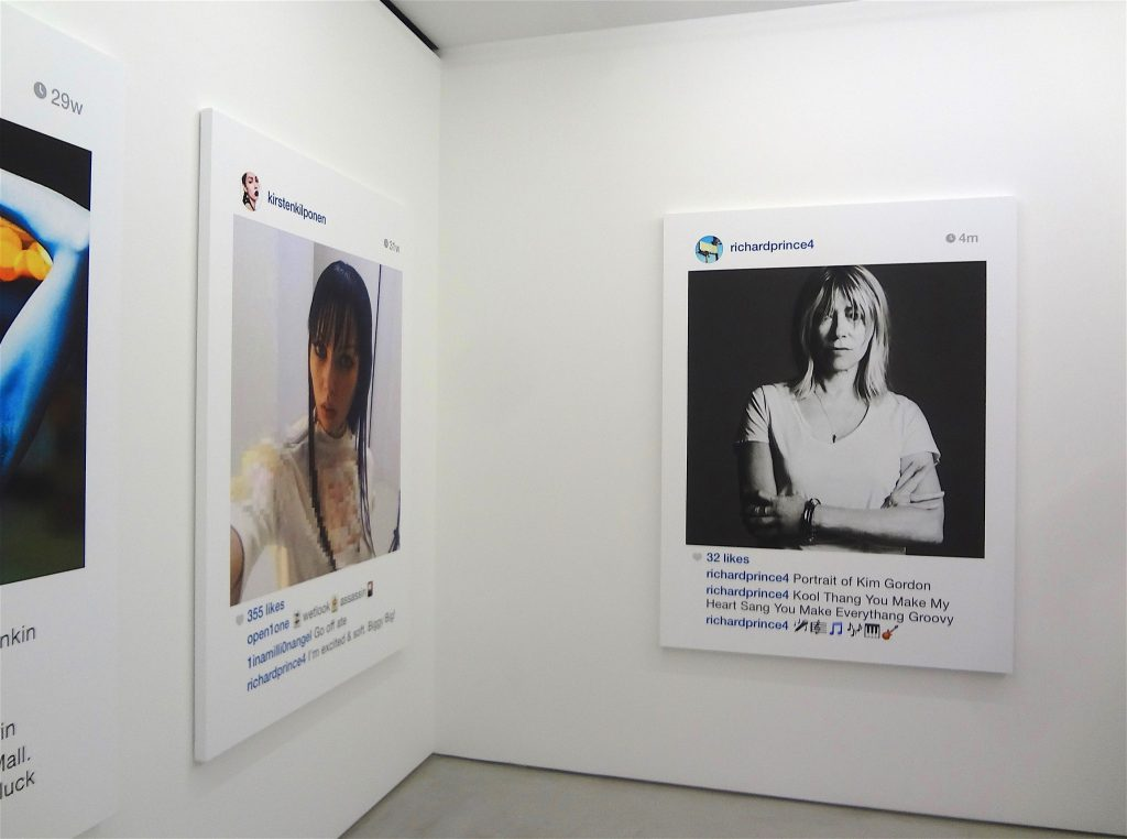 Richard Prince Untitled (portrait) (Kim Gordon), 2014, Blum & Poe, Tokyo Inkjet on canvas, 65 3:4 x 48 3:4 inches