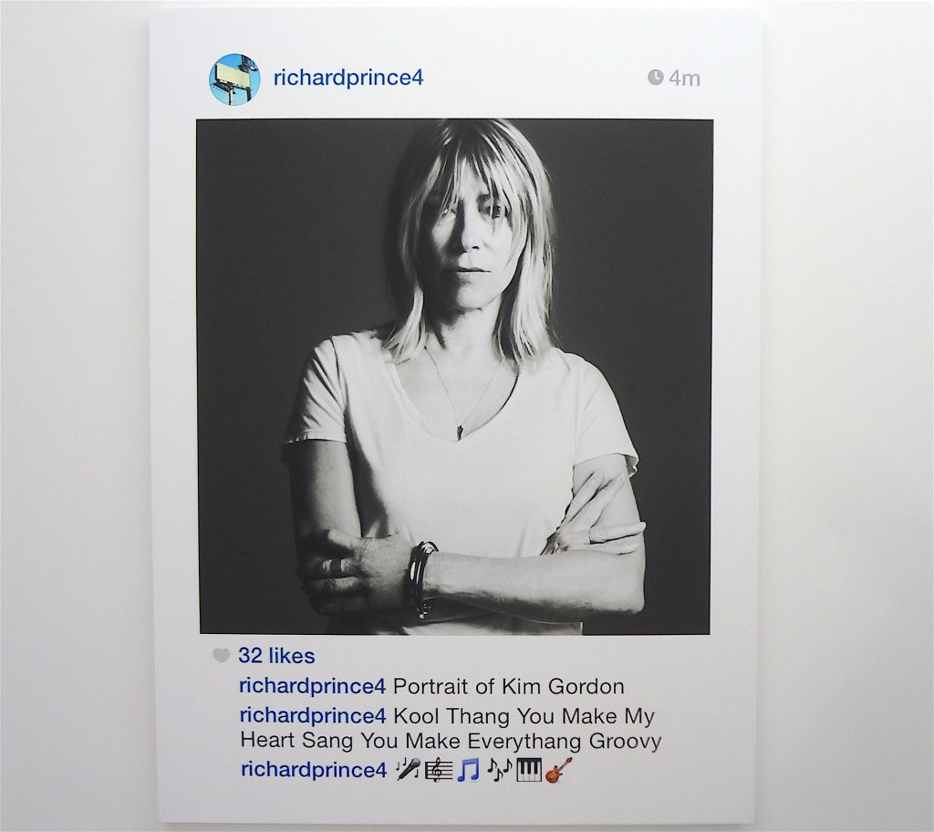 Richard Prince vs. Eric McNatt's Kim Gordon problematic picture