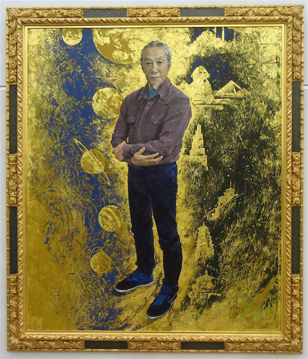 日展顧問 藤森兼明 FUJIMORI Kaneaki 「喜多郎 シルクロードから天空へのオマージュ」2016年