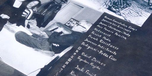 新作 「ロベール・デスノス、藤田嗣治、藤田ユキ、藤田君代。レジスタンス 対 戦争犯罪人。」