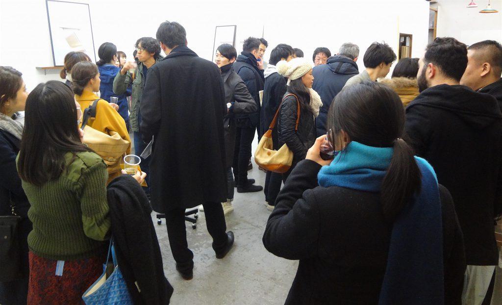 磯谷博史「Lag」展のオープニングレセプション @ 青山|目黒