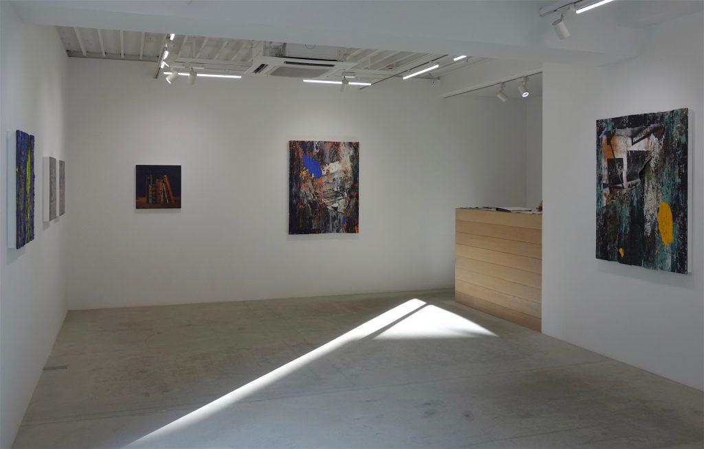 多田圭佑個展「エデンの東」の展示風景