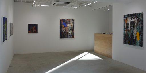 「エデンの東」のアクリル・トロンプ・ルイユ by 多田圭佑 @ MAHO KUBOTA GALLERY