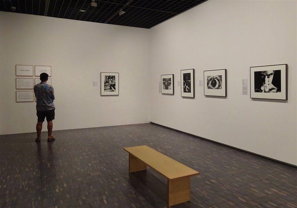 東京国立近代美術館 細江英公・三島由紀夫、展示風景1