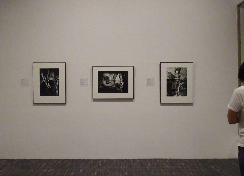 東京国立近代美術館 細江英公・三島由紀夫、展示風景3