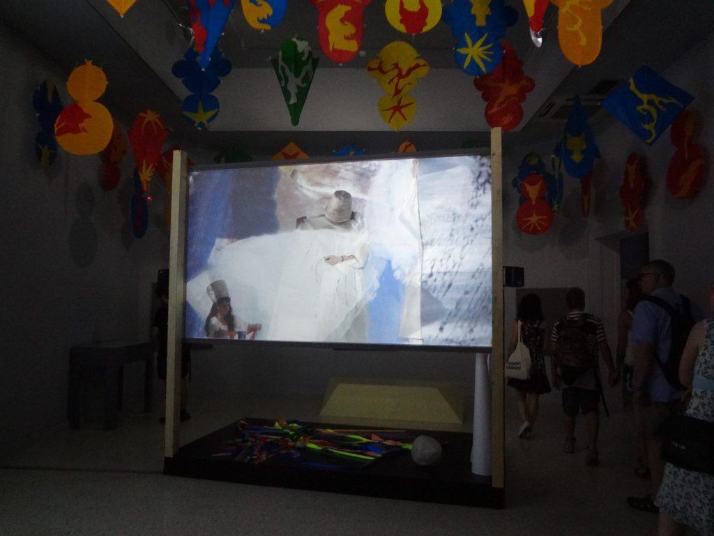 ジョーン・ジョナス Joan Jonas exhibition in the U.S. Pavilion Venice Biennale ヴェネツィア・ビエンナーレ 2015