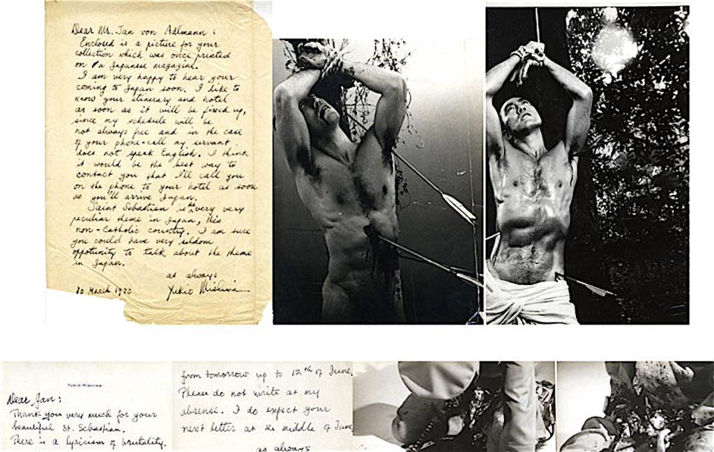 三島由紀夫、Jan von Adlmann恋人への手紙 1970年