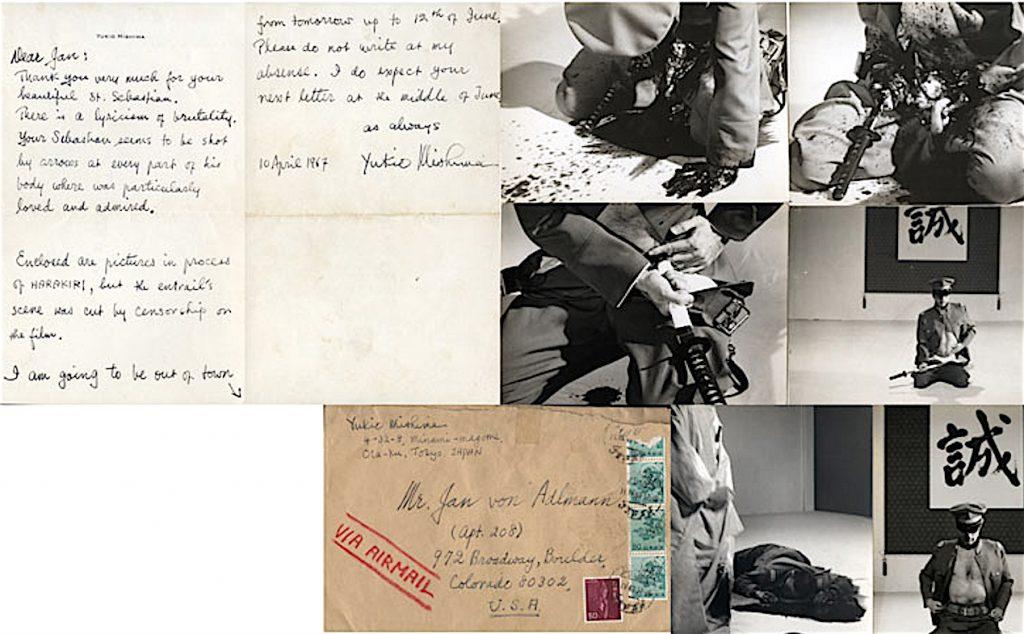 三島由紀夫、Jan von Adlmann恋人への手紙 1970