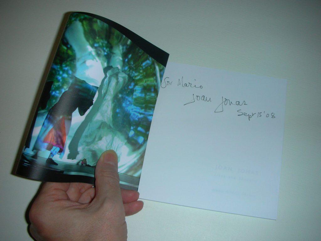 Joan Jonas catalogue by WAKO WORKS OF ART