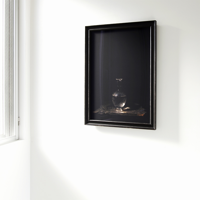 "KOSEMURA Mami 小瀬村真美 ""Guisse"" 2018, Giclee print, Museum glass frame, 65 x 44.5 cm, edition work, installation"