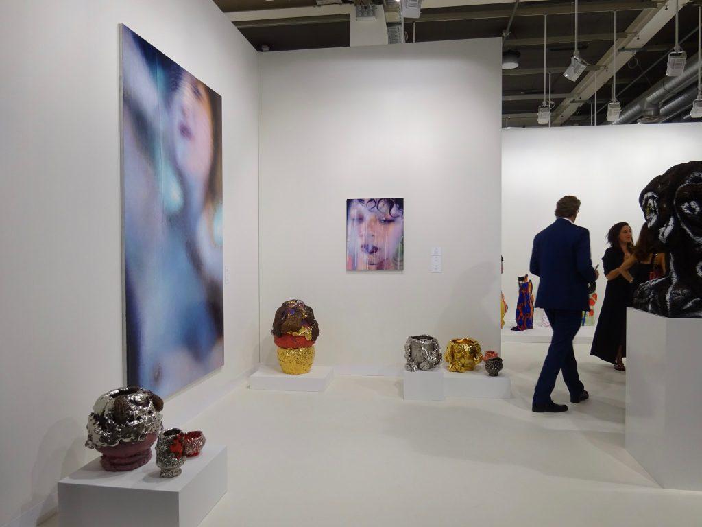 KUWATA Takuro 桑田卓郎作 @ Salon94, ART BASEL, Switzerland