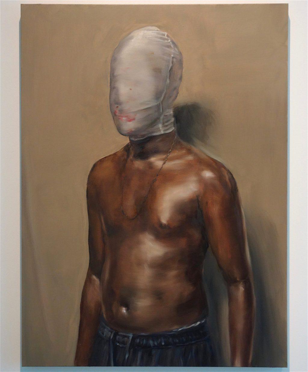 "Michaël Borremans ""Jack"" 2018, oil on canvas"