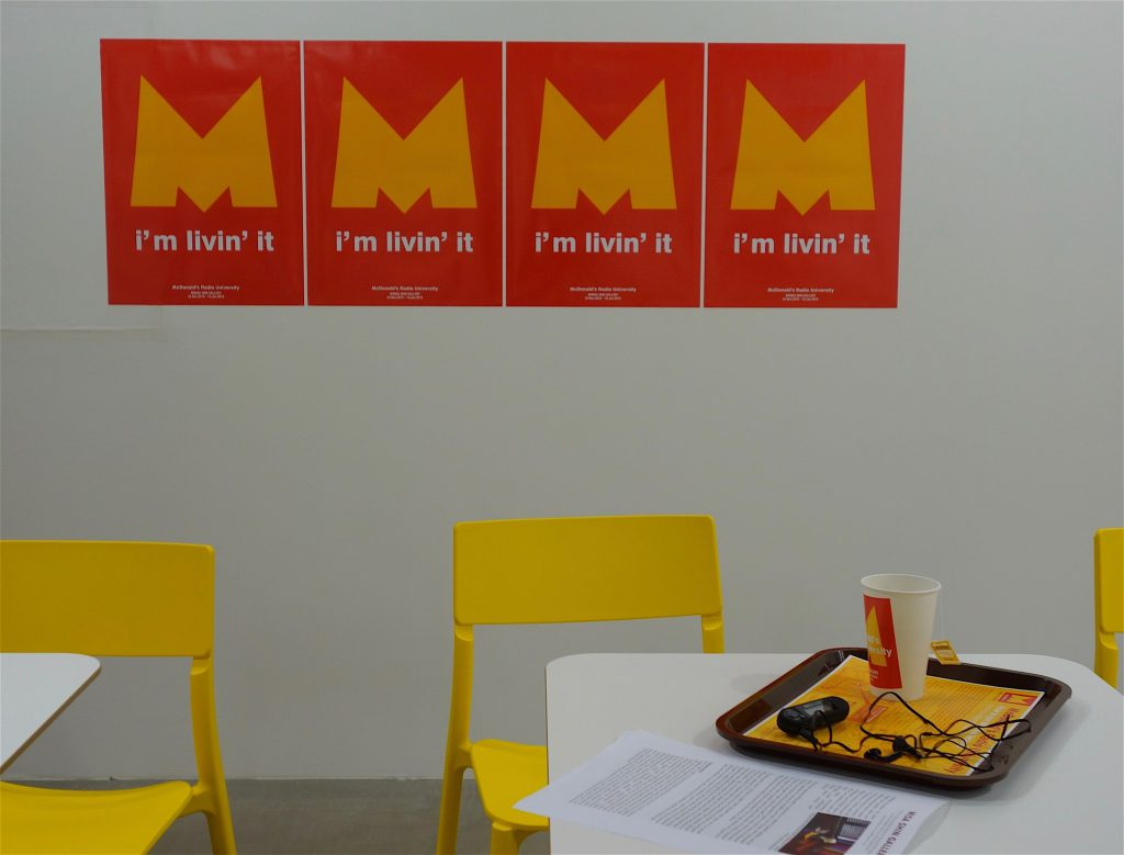 TAKAYAMA Akira 高山明「マクドナルド放送大学」McDonald's Radio University