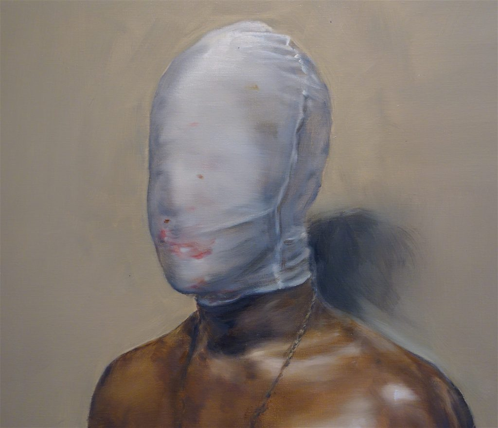 "ミヒャエル・ボレマンス Michaël Borremans ""Jack"" 2018, oil on canvas, detail"