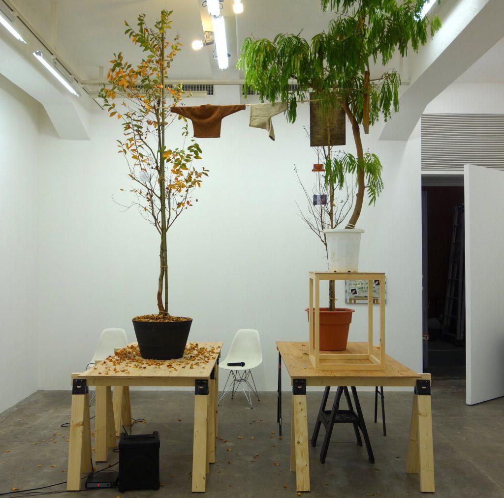 千葉正也 CHIBA Masaya 「jointed tree gallery #5 井出賢治、陳楚翹 (BUNCH) 「hello baby」」作品詳細は別紙参照 (Part B-1)