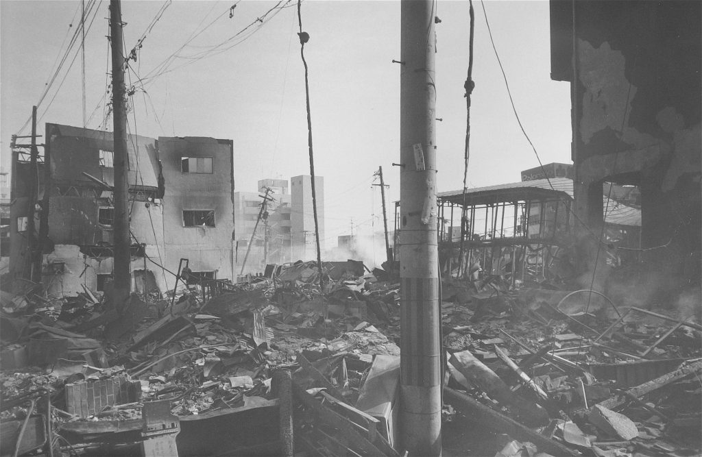 地震の悲しみ (神戸市) The Sorrow of the Earthquake (City of Kobe) 1995, #2