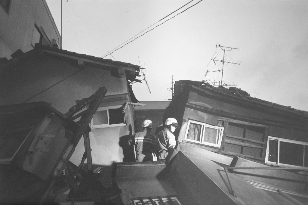 地震の悲しみ (神戸市) The Sorrow of the Earthquake (City of Kobe) 1995, #5
