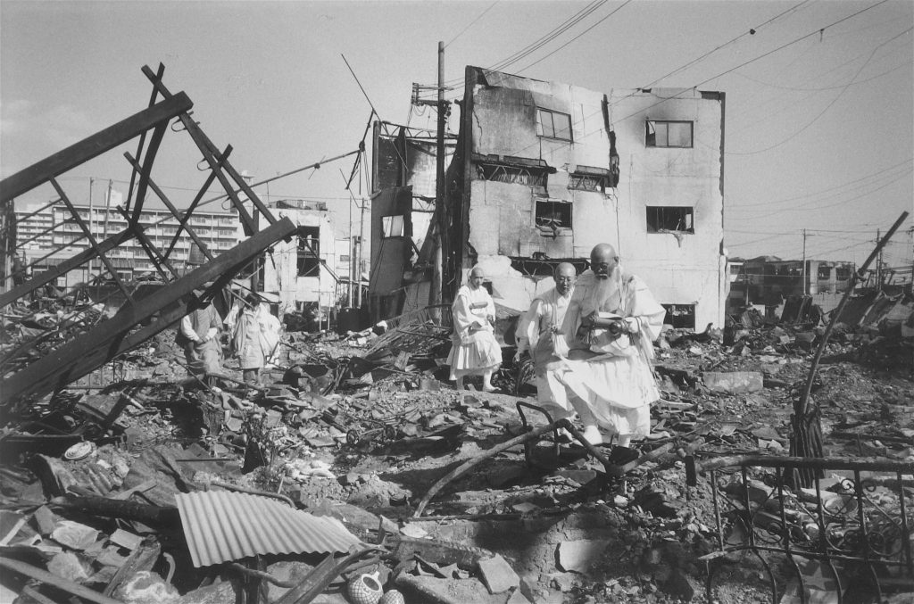 地震の悲しみ (神戸市) The Sorrow of the Earthquake (City of Kobe) 1995, #9