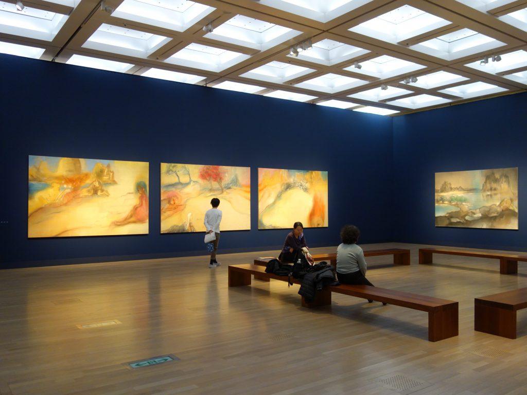 """イケムラレイコ IKEMURA Leiko exhibition 「土と星」 """"Earth & Stars"""" @ 国立新美術館 The National Art Center, Tokyo、「コスミックスケープ」""""Cosmicscape"""""""